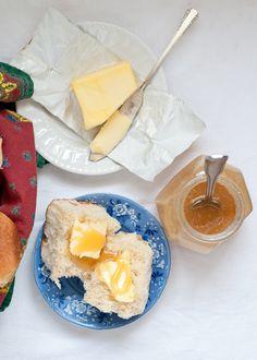 Super Soft Milk Rolls with Raw Honey (from @Lindsey Johnson - Cafe Johnsonia)