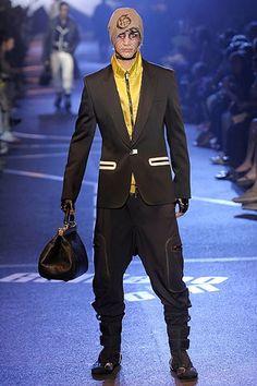 John Galliano Spring 2009 Menswear Fashion Show