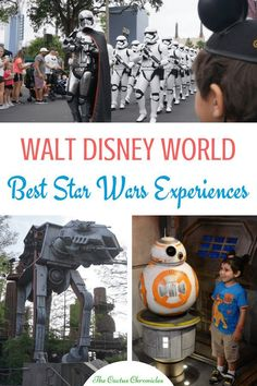 There are several things to do at Disney World for Star Wars fans. Here are 9 best Star Wars experiences at Disney World, specifically at Hollywood Studios! Disney World Attractions, Disney World Parks, Walt Disney World Vacations, Disney Resorts, Disney Travel, Disney Land, Disney Vacation Planning, Disney World Planning, Disney Honeymoon