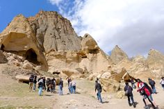 The gorgeous scenery of Cappadocia, Turkey -- cave houses/churches set in the volcanic rock.