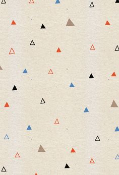 simple triangles pattern