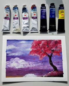 Easy acrylic landscape drawing Acrylic Colors, Paint Colors, Landscape Drawings, Easy, Painting, Paint Colours, Painting Art, Paintings, Painted Canvas