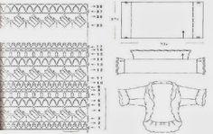 Crochet Sweater: Crochet Shrug Pattern - Stylish Shrug Bolero For Young Women