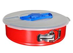 Springform Pan 10in for Baking Cake Cheesecake from Elsterware Leak-proof Tin, Easy Release Spring Clip, and Removable Bottom Allow Pans Nonstick Separation to Reveal a Masterpiece. Bake Easy! (Red) Elsterware http://www.amazon.com/dp/B0137FBG52/ref=cm_sw_r_pi_dp_r8kAwb1MN1CZM
