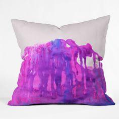 Amy Sia Storm Throw Pillow