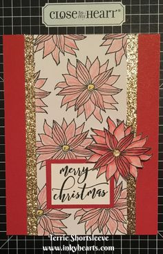 Stamp of the Month blog hop-December 2016 at Inkyhearts Papercrafting