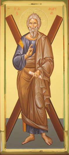 Andrew The Apostle, Byzantine Art, Orthodox Christianity, Early Christian, St Andrews, Orthodox Icons, Religious Art, Science And Nature, Santos