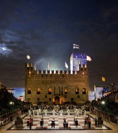 Human chess in Marostica, Italy, in the region of Veneto, just half an hour from Vicenza. Verona, Places Around The World, Around The Worlds, Vicenza Italy, Am Meer, Northern Italy, Italy Travel, Italy Trip, Chess