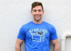 If I Fits, I Sits T-Shirt - Cat T-Shirt