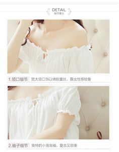 dress long white nightgown Women Nightgowns Cotton Short Sleeve sexy nightwear vestido vintage sleepwear purchase cheap White Nightgown, Nightgowns For Women, Cotton Shorts, Dress Long, Nightwear, Night Gown, Off Shoulder Blouse, Short Sleeves, Crop Tops