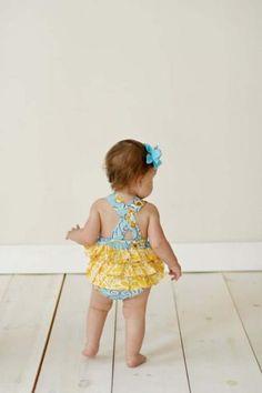 Baby Girl Romper Sunsuit