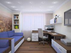Картинки по запросу комната подростка в стиле хай-тек