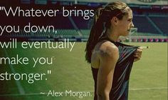 Alex Morgan, after 5-3 loss to Denmark in the Algarve Cup, March 10, 2014.. (Twitter)