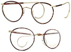 Berkshire Chase Savile Row Beaufort Panto glasses.