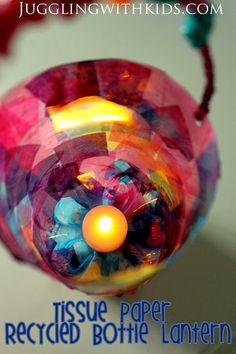 Soda Bottle Lantern: Virtual Book Club For Kids: Karma Wilson – Juggling With Kids