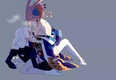 Kallen Kaslana and Sakura Yae Female Swordsman, Shoujo Ai, Seven Knight, 4 Wallpaper, Cute Anime Pics, Beautiful Anime Girl, 3d Max, Anime Artwork, Manado