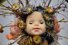 Our Creepy Dolls Head Bouquet Creepy Dolls, Doll Head, Bouquet, Teddy Bear, Toys, Animals, Animais, Animales, Animaux