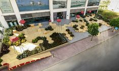 Zighizaghi es un jardín urbano multi-sensorial que deriva de una colaboración entre Miliashop y Farm Park.