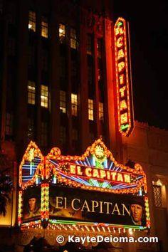 Hollywood Photo Tour: El Capitan Theatre