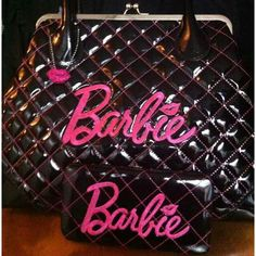 Barbie purse and Wallet Bad Barbie, Barbie Life, Barbie World, Barbie Stuff, Everything Pink, Barbie Friends, Vintage Barbie, Purse Wallet, Purses And Handbags