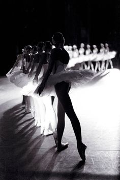 Corps de ballet. Beautiful