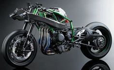 The Kawasaki Ninja H2R Is the Most Powerful Motorcycle Ever Produced | Cool Material. It's not street-legal, but there is a street version rumored to be coming soon.