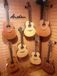 Lowden acoustic guitars