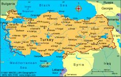 Digital maps that give you a geography of the countries of the world can be for print as well as guided tours. Ankara, Turkey Weather, Turkey Resorts, Turkey Culture, Turkey History, Republic Of Turkey, Visit Turkey, Country Maps, Geography