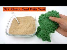 DIY Kinetic Sand - YouTube