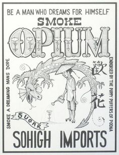 Opium advertisement. wow.