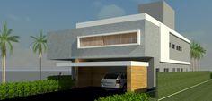 Project by Zeca Repette + Marilda Marciori Architecture Studio  in Londrina - Brazil  Residence