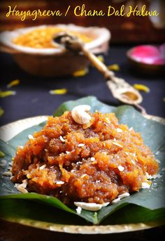 HAYAGREEVA (HAYAGRIVA ) MADDI RECIPE / CHANA DAL HALWA | Cook With Smile #halwa