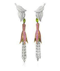 Van Cleef and Arpels Jardin Secret earrings