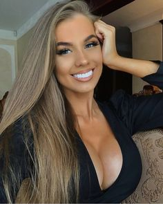 Gorgeous Blonde, Beauty Full Girl, Beautiful Smile, Pretty Face, Pretty Woman, Gorgeous Women, Sexy Women, Glamour, Long Hair Styles