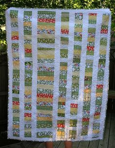 L's Quilt2 by katie @ swim, bike, quilt!, via Flickr