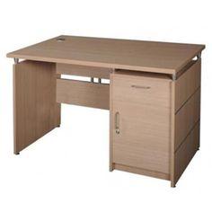 Bàn làm việc royal cao cấp HR1200SHL : Mặt bàn gỗ Melamine vân sần dày 25 mm, chân bàn dày 18 mm , phối cùng màu đóng nẹp nhôm trang trí. Mặt bàn liên kết với chân ốp bằng ke tóp mạ.