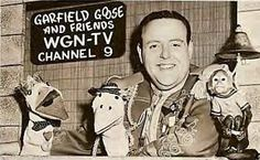 Garfield Goose early days on WGN in Chicago