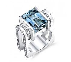 Love this Aquamarine Ring!