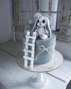 Не забытый Зайка со старого чердака #cake