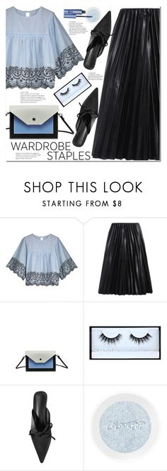 """Tried and True: Wardrobe Staples"" by duma-duma ❤ liked on Polyvore featuring Huda Beauty, Benefit and WardrobeStaples"