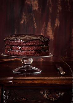 Photograph Vegan chocolate cake by crazy cake on 500px