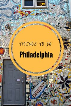 7 Interesting things to do in Philadelphia including food, art and history.