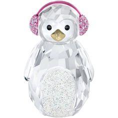 #Swarovski Rocking Penguin. Order online at: http://www.fxdougherty.com/swarovski-rocking-penguin #Holidays #GiftIdea