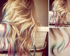 rainbow dip dye :)