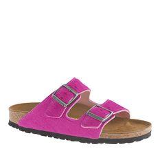 Women's Birkenstock® calf hair Arizona sandals : sandals | J.Crew