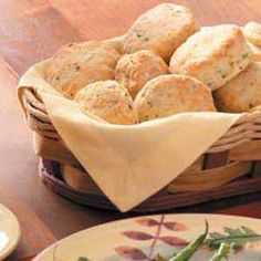 """Garden Biscuits Recipe -""""These flaky yeast biscuits—speckled with carrot, parsley and green onion—smell wonderful while baking. So it's hard to resist eating one right from the oven,"""" notes Kerry Dority of Camdenton, Missouri."""