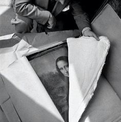 Discovering the Mona Lisa, after WW2