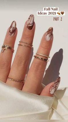 Gel Nails, Nail Polish, Coffin Nails, Manicure, Almond Nails, Almond Acrylic Nails, Nails Inspiration, Image Nails, Acylic Nails