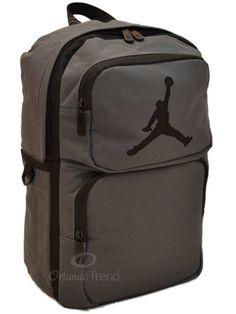 "Nike Air Jordan Backpack 14"" laptop 365 Deuce Jumpman Gray Black Bag 14 inch #Nike #Backpack #Jumpman #Basketball #OrlandoTrend"