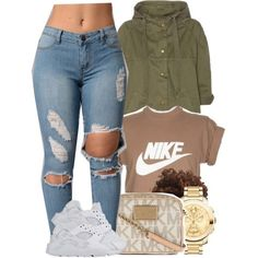 Nike, movado and michael michael kors swag outfits, dope outfits, hipster. Fashion Mode, Teen Fashion Outfits, Dope Outfits, Swag Outfits, Look Fashion, Outfits For Teens, Trendy Outfits, Winter Outfits, Summer Outfits